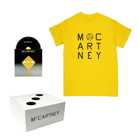 McCartney III - Secret Demo Edition Yellow Cover CD and T-Shirt Box Set