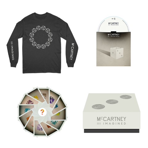 McCartney III Imagined - Limited Edition Black Long Sleeve Shirt & CD Box Set