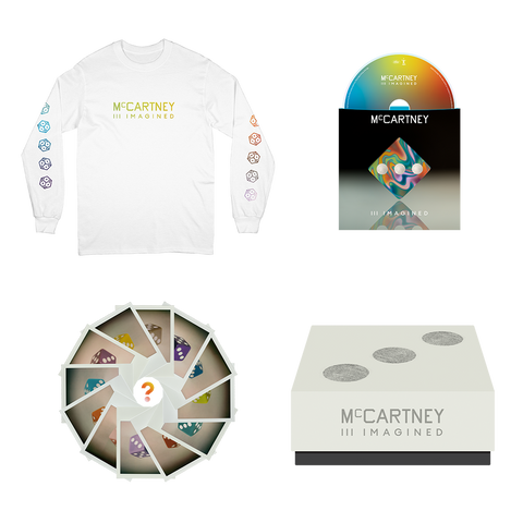 McCartney III Imagined - Limited Edition White Long Sleeve Shirt & CD Box Set