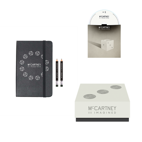 McCartney III Imagined - Limited Edition Notebook & CD Box Set