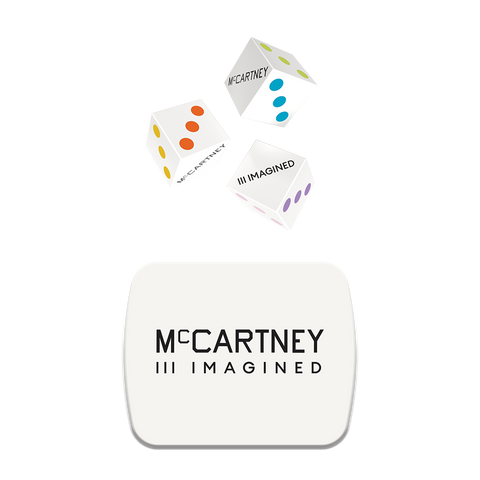 McCartney III Imagined - Limited Edition Dice & CD Box Set