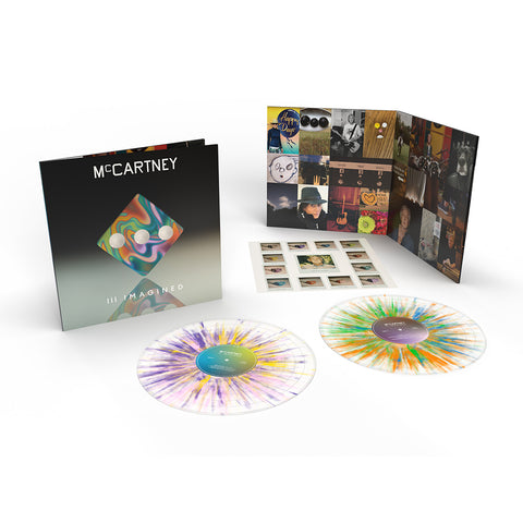 McCartney III Imagined - Limited Edition Exclusive Splatter 2LP