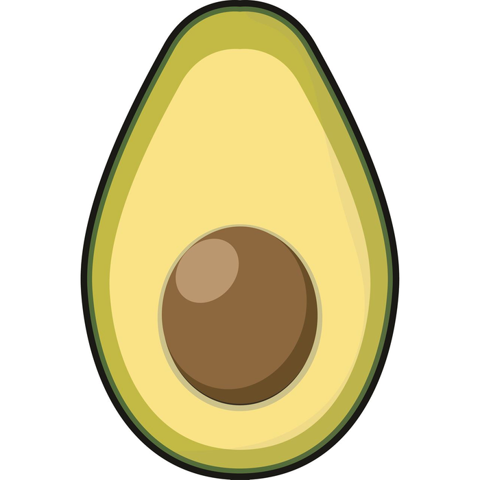 Avocado Badehåndkle