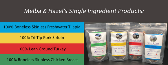 Melba & Hazel Single Ingredient Products