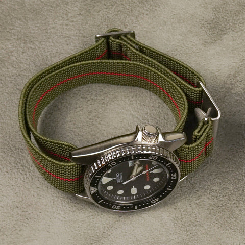marine nationale how to install it seiko turtle paratrooper elastic strap cheapestnatostraps
