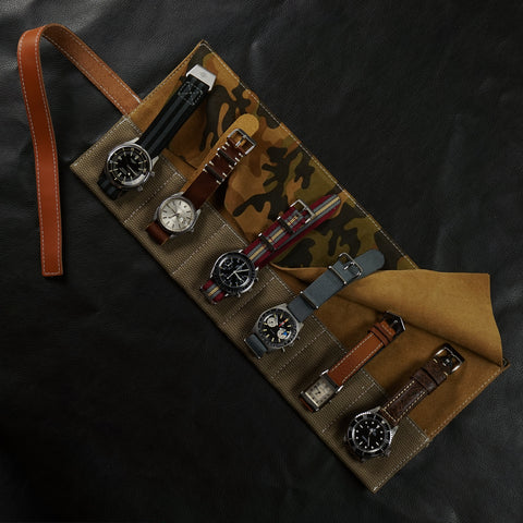 Watch Roll cheapestnatostraps Rolex submariner Rolex Datejust JLC omega speedmaster watch accessories watch goods Leather Camouflage Burgundy baron Bronco James bond Classic Man watch