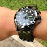 Extra Long PVD Zulu Strap 5-ring Khaki Green - Cheapest NATO Straps  - 14