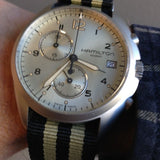 Brushed Premium NATO strap Black and Gold - Cheapest NATO Straps  - 4
