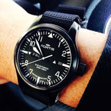 PVD Zulu Strap 5-ring Black - Cheapest NATO Straps  - 3
