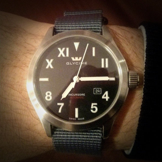 Extra Long PVD Zulu Strap 5-ring Gray - Cheapest NATO Straps  - 7