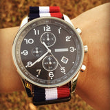 PVD premium NATO Strap Red, White and Navy - Cheapest NATO Straps  - 4