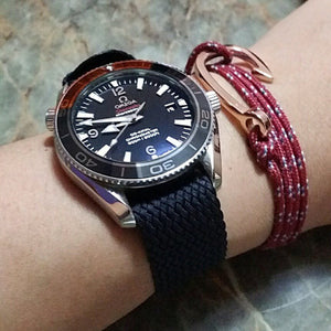Adjustable Perlon strap antrazithe - Cheapest NATO Straps  - 5