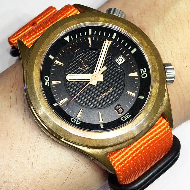 PVD Zulu Strap 5-ring Orange - Cheapest NATO Straps  - 9