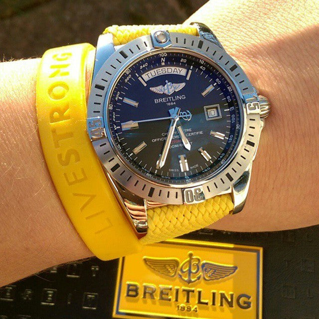 Perlon strap yellow - Cheapest NATO Straps  - 4