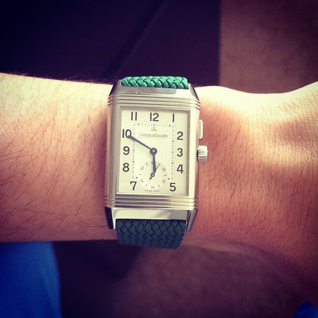 Gold Perlon strap green - Cheapest NATO Straps  - 11