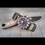 Extra Long PVD Zulu Strap 5-ring Olive Green - Cheapest NATO Straps  - 3