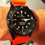 Extra Long PVD NATO Strap Orange - Cheapest NATO Straps  - 5