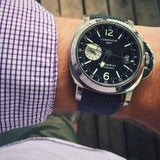 Gold Perlon strap dark gray - Cheapest NATO Straps  - 3