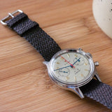Perlon strap dark brown - Cheapest NATO Straps  - 3