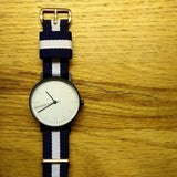 Premium Original NATO Strap Navy and White - Cheapest NATO Straps  - 3