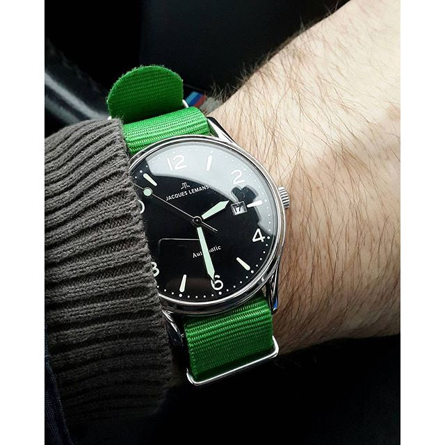 NATO Strap Solid Green - Cheapest NATO Straps  - 4