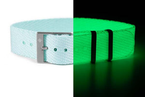 "Adjustable Single Pass Strap ""The Mint Lumed"""