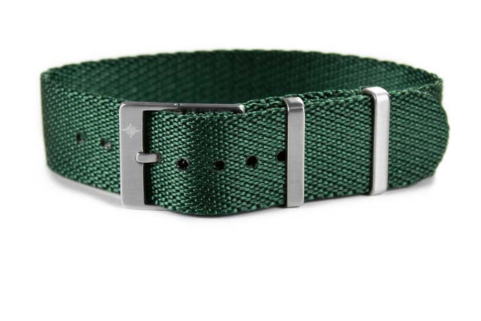Adjustable Single Pass Strap British Racing Green