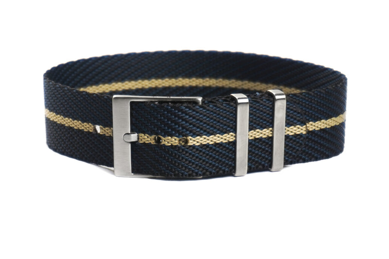 Adjustable Single Pass Strap Midnight and Barley