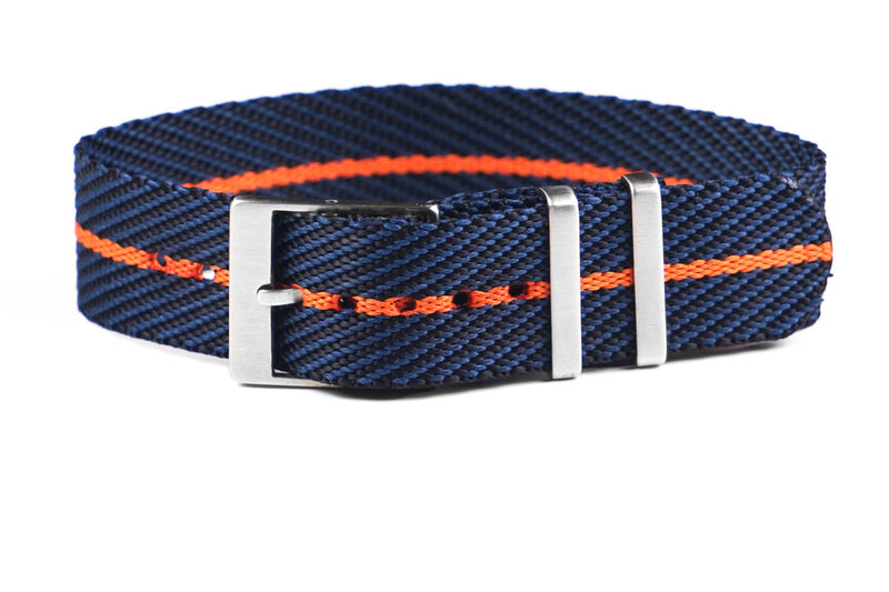 Adjustable Single Pass Strap Midnight and Orange