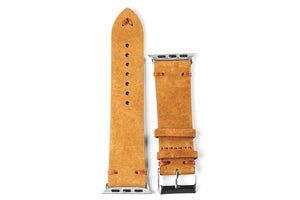 Apple Watch Strap Suede Brown