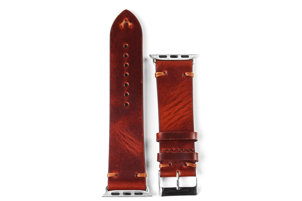 Apple Watch Strap Vintage Chestnut