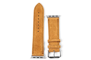 Apple Watch Strap Classic Suede Brown