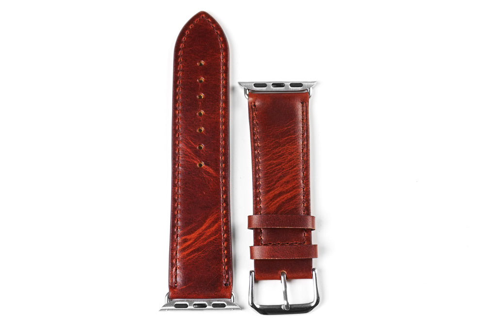 Apple Watch Strap Classic Chestnut