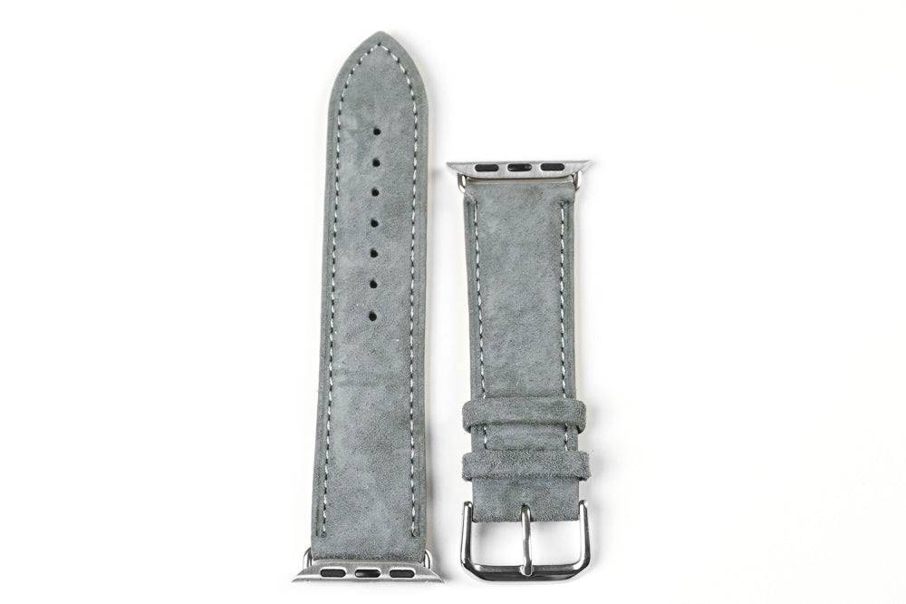 Apple Watch Strap Classic Suede Gray (42 mm)