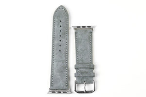 Apple Watch Strap Classic Suede Gray