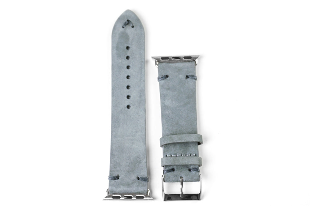 Apple Watch Strap Suede Gray