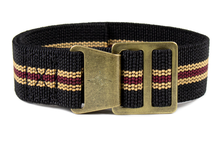 "Bronze Paratrooper Strap ""The Black Bay"""