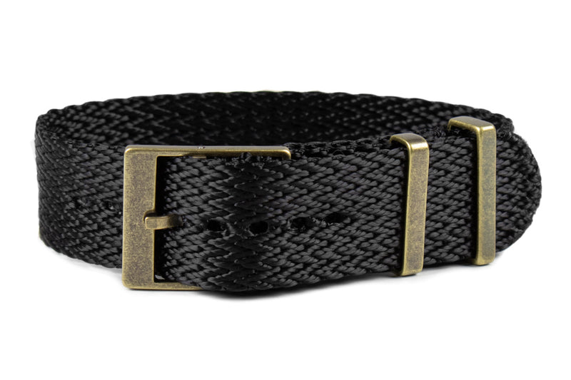 Bronze SharkTooth Strap Black