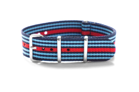 Brushed Premium NATO strap Racing (18 mm)