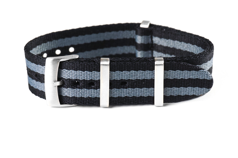"Deluxe Brushed Seat Belt NATO ""James Bond"""