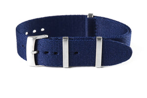 Deluxe Brushed Seat Belt NATO Navy