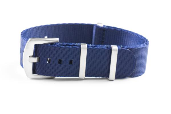 Budget Seat Belt NATO strap Navy (18, 20 & 22 mm)