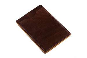 Card Holder Rugged Chestnut