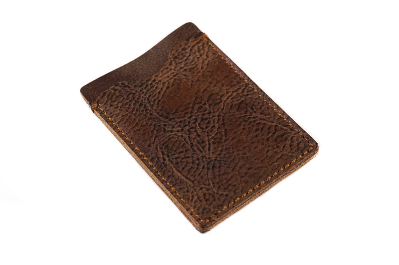 Card Holder Rustic Brown