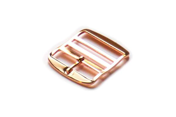 Rose Gold Perlon buckle