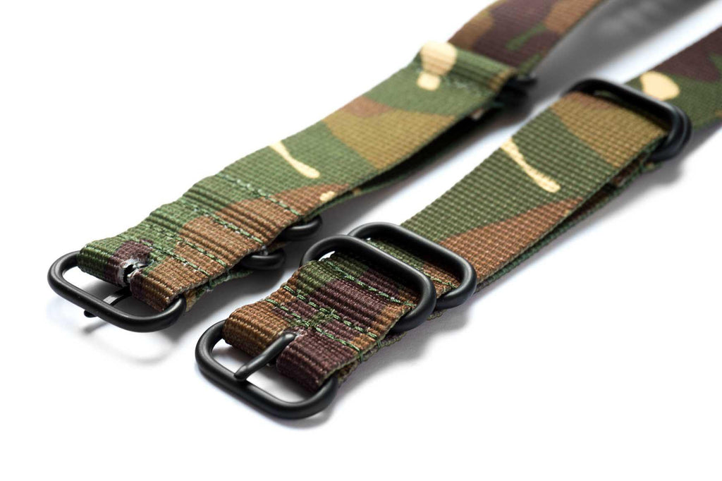 PVD Zulu Strap 5-ring Camouflage - Cheapest NATO Straps  - 2
