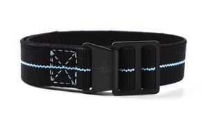 Paratrooper PVD Strap Black and Blue