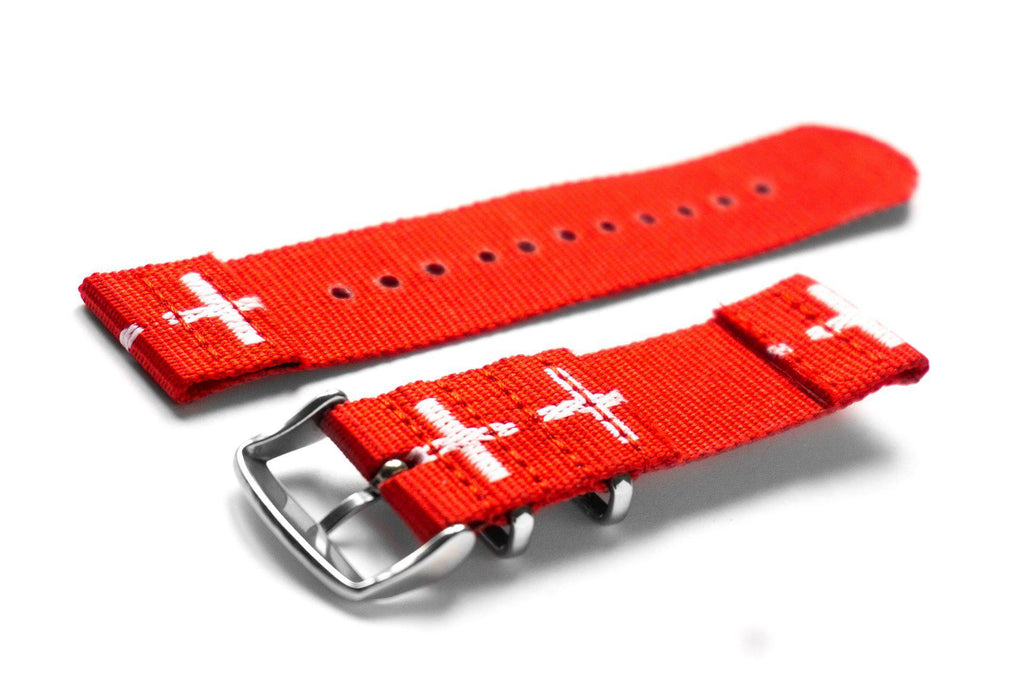 Two Piece NATO Strap Swiss - Cheapest NATO Straps  - 2
