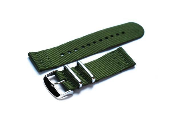 Two Piece NATO Strap Khaki Green (18 mm)