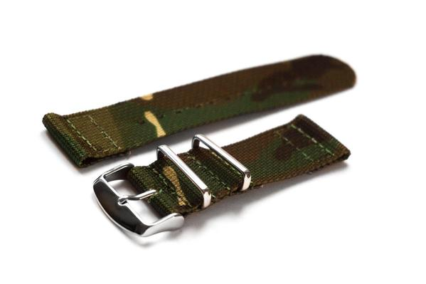 Two Piece NATO Strap Camouflage (20 & 22 mm)